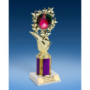 "Bowling 2 Sport Starz Trophy 8"""