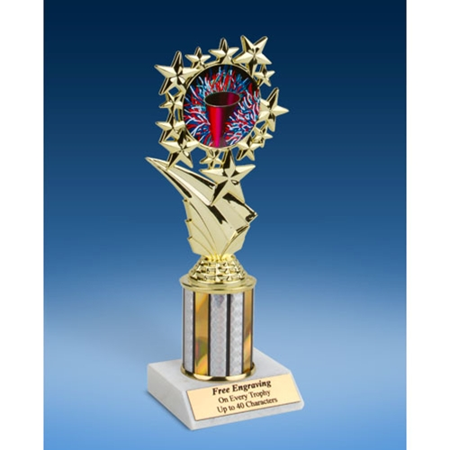"Cheerleading 1 Sport Starz Trophy 8"""