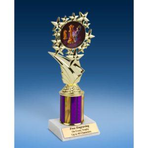 """Chess Sport Starz Trophy 8"""""""