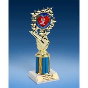 "Cupid Sport Starz Trophy 8"""