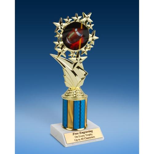 "Football 1 Sport Starz Trophy 8"""