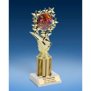 "Football 2 Sport Starz Trophy 8"""