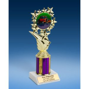 "Hot Rod Sport Starz Trophy 8"""