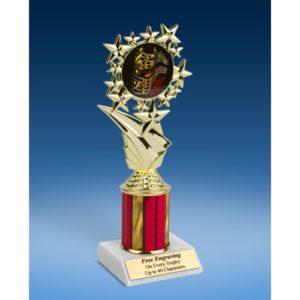 "Music 1 Sport Starz Trophy 8"""