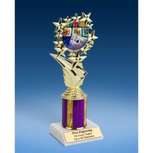 """Poker Sport Starz Trophy 8"""""""
