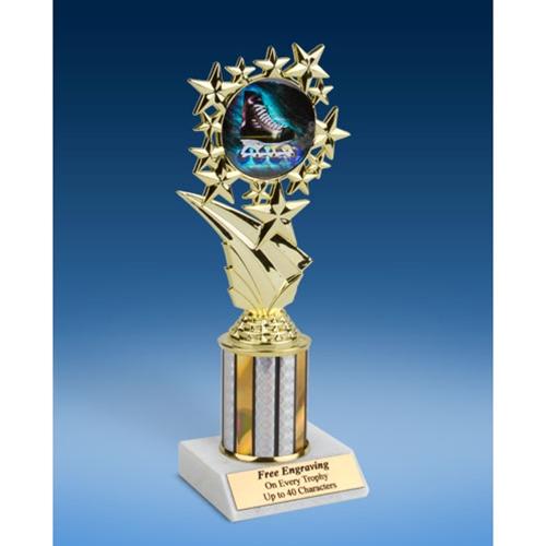 "Rollerblading Sport Starz Trophy 8"""
