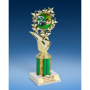 """Soccer 3 Sport Starz Trophy 8"""""""