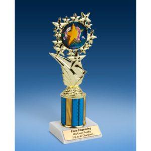 "Sportsmanship Sport Starz Trophy 8"""