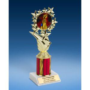 "Wrestling Sport Starz Trophy 8"""