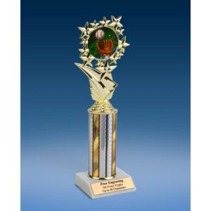 Baseball 2 Sports Starz Trophy 10""