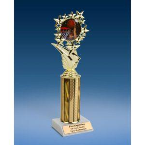 """Basketball 2 Sports Starz Trophy 10"""""""