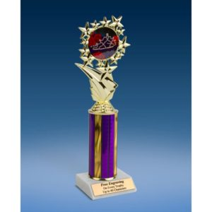 Beauty Queen Sports Starz Trophy 10""