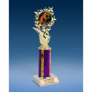 """Body Building Sports Starz Trophy 10"""""""
