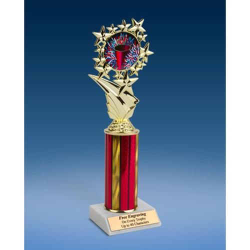 "Cheerleading 1 Sports Starz Trophy 10"""