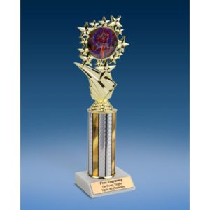 Cheerleading 2 Sports Starz Trophy 10""