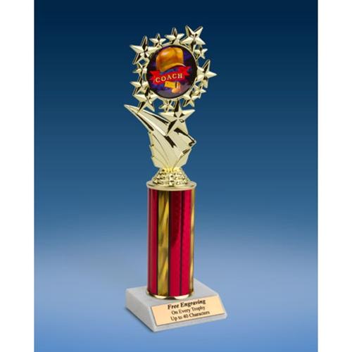 """Coach Sports Starz Trophy 10"""""""