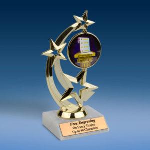 Attendance Astro Spinner Trophy-0