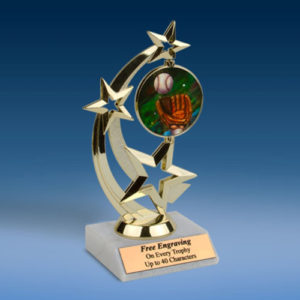 Baseball 2 Astro Spinner Trophy