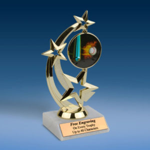 Baseball Astro Spinner Trophy-0