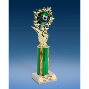 Soccer 1 Sports Starz Trophy 10""
