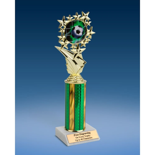 "Soccer 1 Sports Starz Trophy 10"""