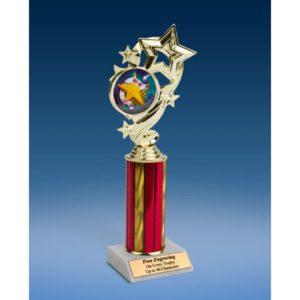 """10K Star Ribbon Trophy 10"""""""