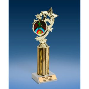 "Archery Star Ribbon Trophy 10"""