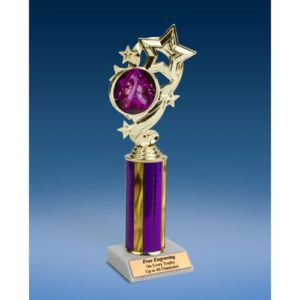 Dance 2 Star Ribbon Trophy 10""
