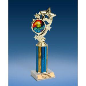 """Decathlon Star Ribbon Trophy 10"""""""