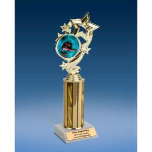 "Diving (F) Star Ribbon Trophy 10"""