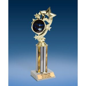 Eagle Star Ribbon Trophy 10""