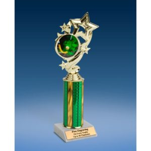 Field Hockey Star Ribbon Trophy 10""