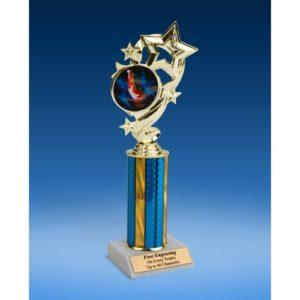 """Gymnastics (M) Star Ribbon Trophy 10"""""""