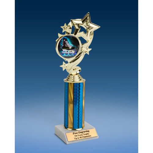 Rollerblade Star Ribbon Trophy 10""