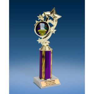 "Spelling Star Ribbon Trophy 10"""