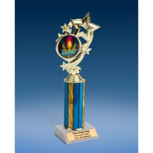 Sponsor Star Ribbon Trophy 10""