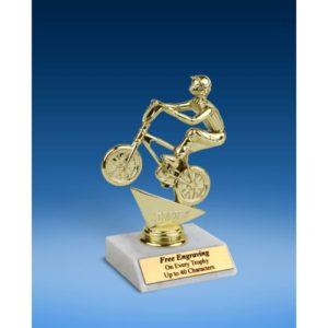 "BMX Sport Figure Trophy 6"""