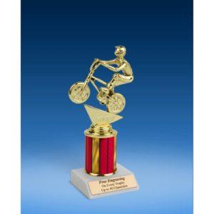 "BMX Sport Figure Trophy 8"""