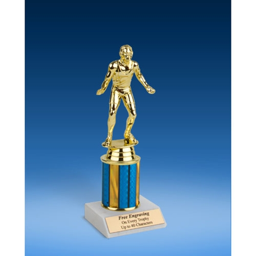 "Boxing Sport Figure Trophy 8"""