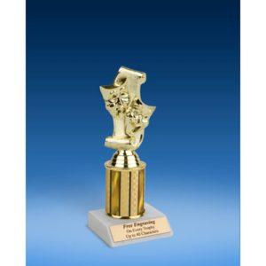 "Drama Sport Figure Trophy 8"""
