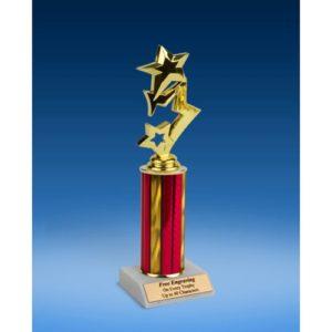 """3-Star Sport Figure Trophy 10"""""""