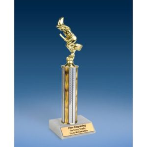 Witch Sport Figure Trophy 12""