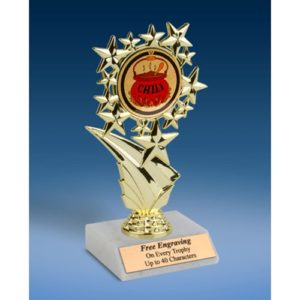 Chili Sports Starz Trophy 6""