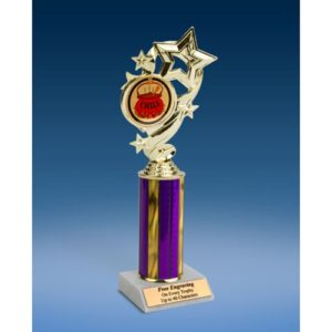 Chili Star Ribbon Trophy 10""