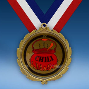 Chili Wreath Medal-0