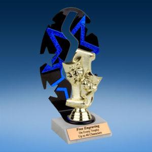 Drama Sport Figure Backdrop Trophy-0