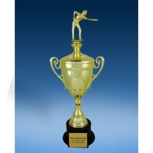 Billiards Sport Figure Gold Cup