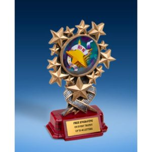 10K Resin Starburst Award