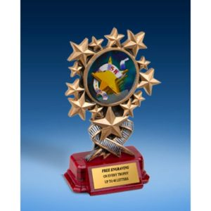 5K Resin Starburst Award