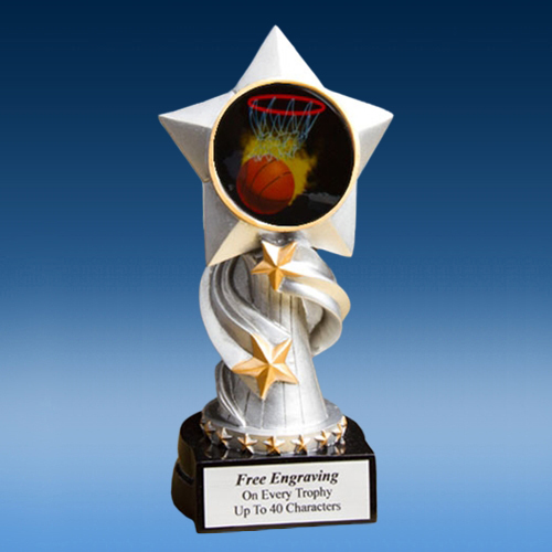 Basketball 1 Encore Resin Award